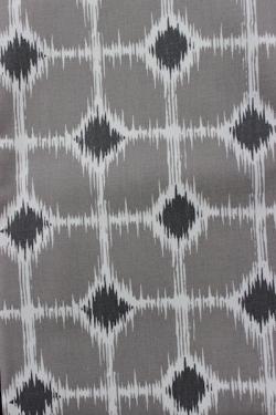 gray diamond fabric