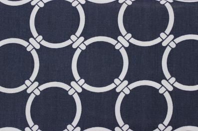 navy and white fabric